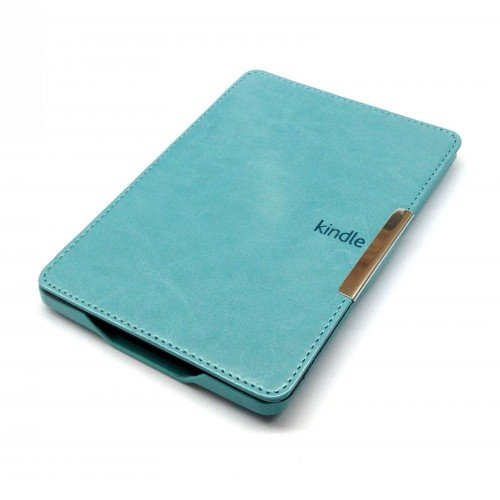 Калъф Business за Kindle Paperwhite 1/2/3, Синьо-зелен