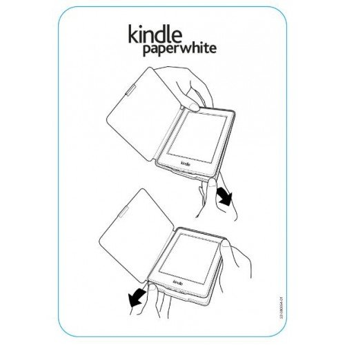 Калъф Business за Kindle Paperwhite 1/2/3, Лилав