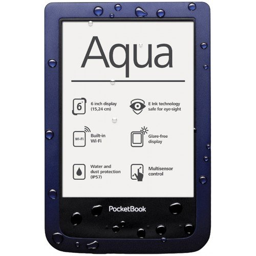 Pocketbook Aqua PB640, Тъмно син