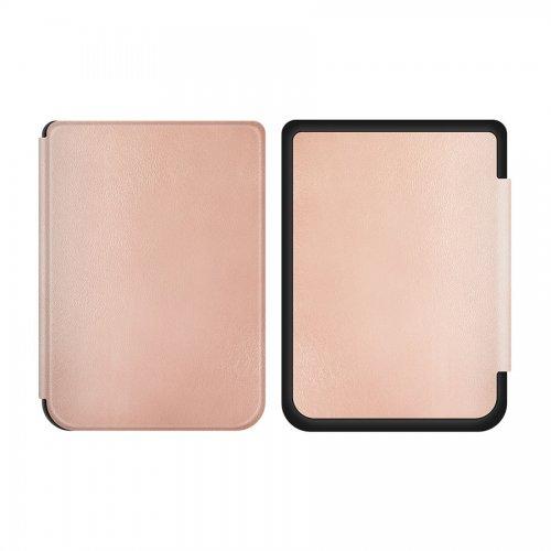 Калъф Premium за Kobo Nia, Розово злато