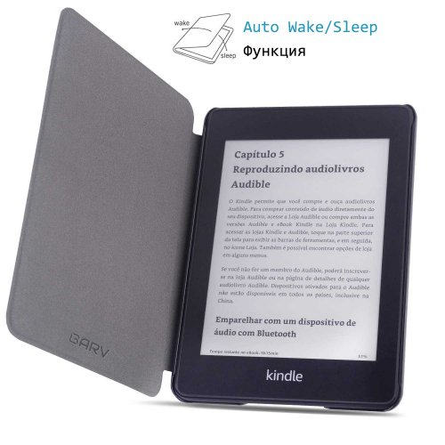Калъф GARV Slim за Kindle Paperwhite 4 (2018), Squares
