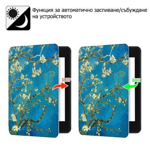 Калъф GARV Slim за Kindle Paperwhite 4 (2018), Almond tree