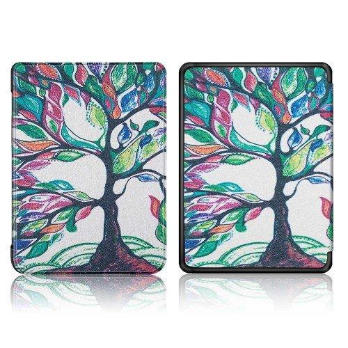 Калъф GARV Slim за Kindle Paperwhite 4 (2018), Colorful tree