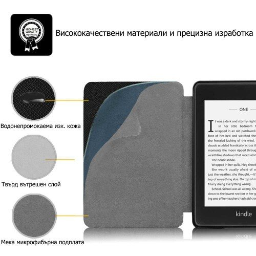 Калъф Slim за Kindle Paperwhite 4 (2018), Paint