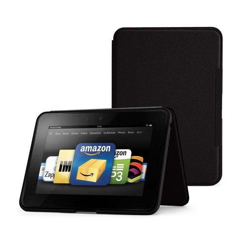 """Калъф Amazon Leather Cover за Kindle Fire HD 8.9"""", Черен"""