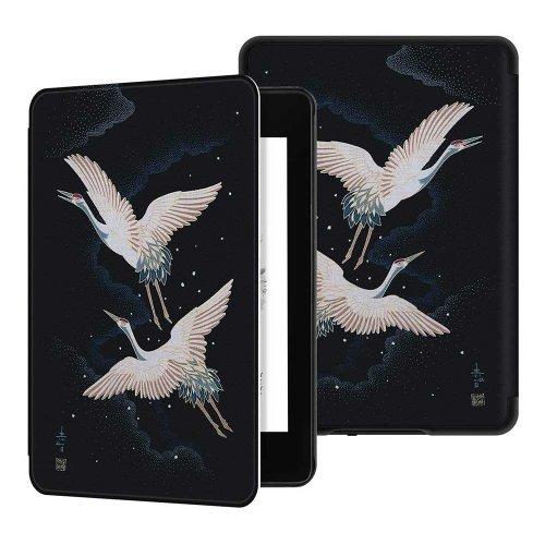 Калъф GARV Slim за Kindle 2019, Cranes