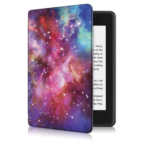 Калъф GARV Slim за Kindle 2019, Galaxy Illusion