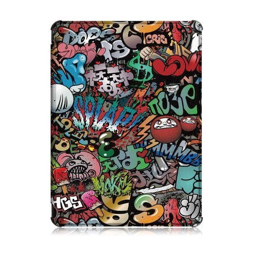 Калъф GARV Slim за Kindle 2019, Graffiti