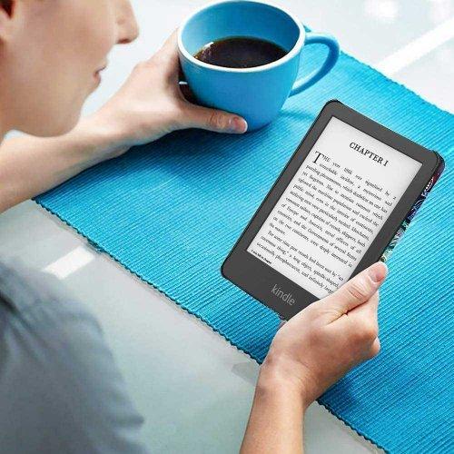 Калъф GARV Slim за Kindle 2019, Mandala Galaxy
