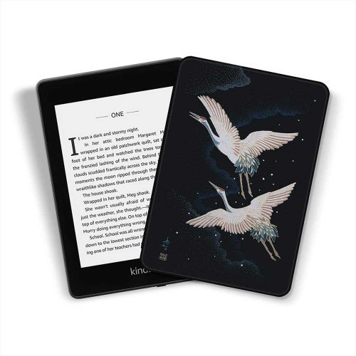 Калъф GARV Slim за Kindle Paperwhite 4 (2018), Cranes