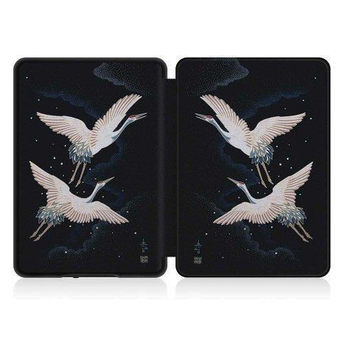 Калъф GARV Slim за Kindle Paperwhite 4 (2018), Cranes