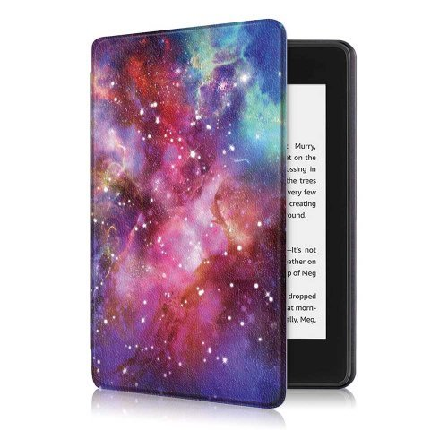 Калъф GARV Slim за Kindle Paperwhite 4 (2018), Galaxy Illusion