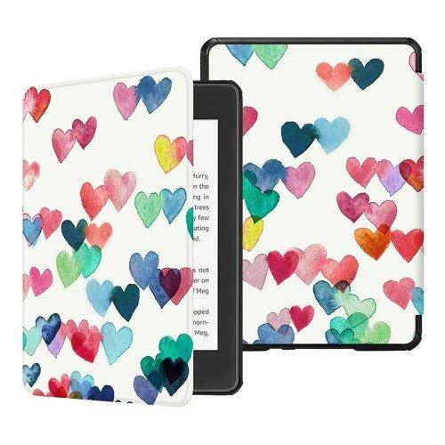 Калъф GARV Slim за Kindle Paperwhite 4 (2018), Raining Hearts