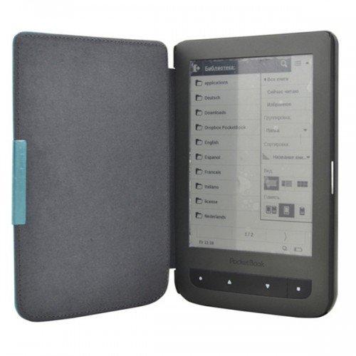 Калъф Premium за Pocketbook 614/ 614-2/ 615/ 624/ 625/ 626/ 640/ 641, Кафяв