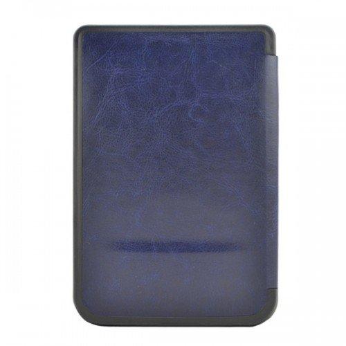 Калъф Premium за Pocketbook 614/ 614-2/ 615/ 624/ 625/ 626/ 640/ 641, Тъмносин