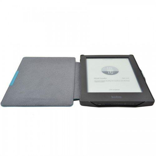 Калъф Premium за Kobo Aura HD, Синьозелен