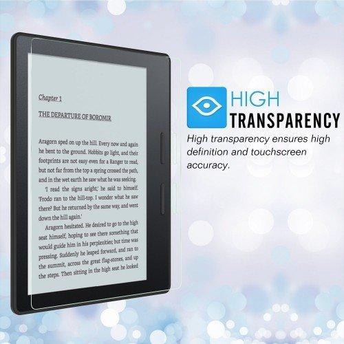"""Фолио протектор за Kindle Oasis 7"""" 2017, Прозрачен"""