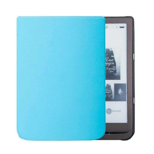 Калъф Premium за Pocketbook InkPad 3 PB740, 3 Pro PB740-2, Светлосин