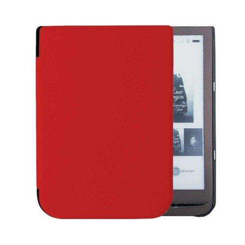 Калъф Premium за Pocketbook InkPad 3 PB740, 3 Pro PB740-2, Червен