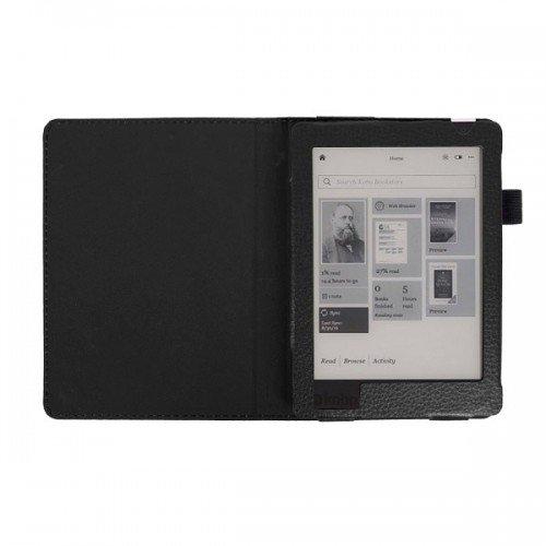 Калъф Magnetic за Kobo Aura H2o Edition 2, Черен