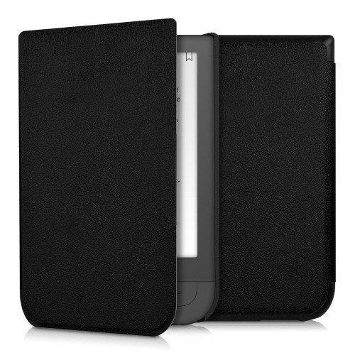 Калъф GARV Premium за Pocketbook Touch HD 631, HD2 631-2, Черен