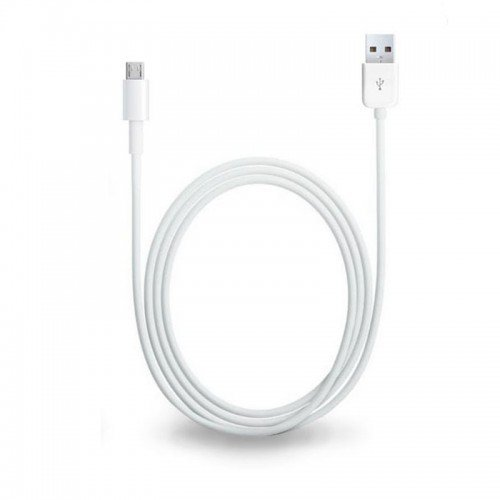 Микро USB кабел за данни, 1.5м., Бял
