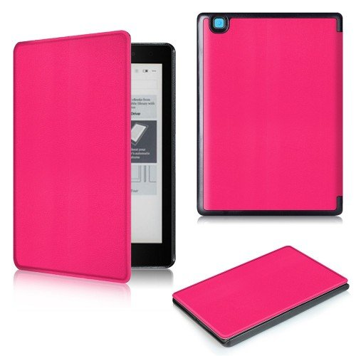 Калъф Premium за Kobo Aura One, Hot Pink