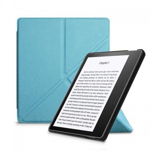 "Калъф Origami за Kindle Oasis 7"", Светлосин"