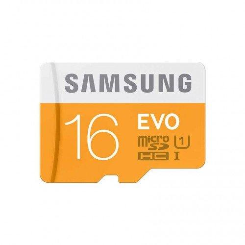 Карта памет MicroSDHC Samsung EVO 16GB, Class 10