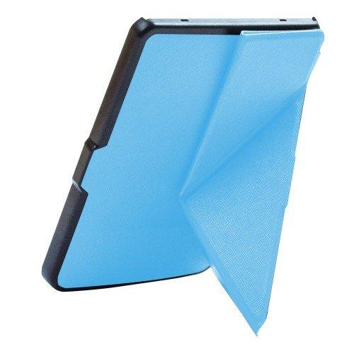 Калъф Origami за Pocketbook 614/ 614-2/ 615/ 624/ 625/ 626/ 640/ 641, Светлосин