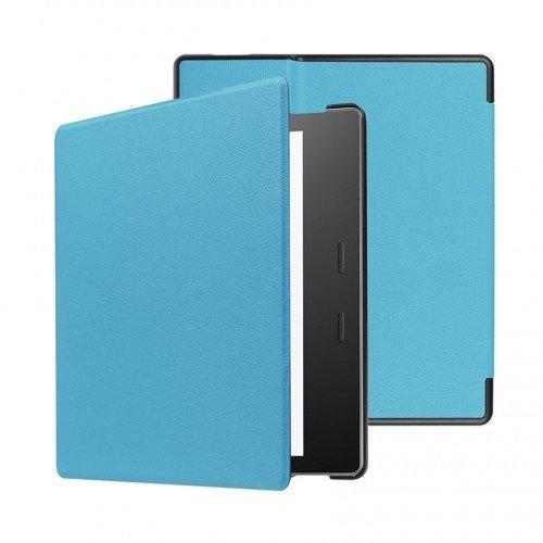"""Калъф Premium за Kindle Oasis 7"""", Светлосин"""