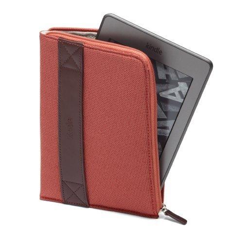 Калъф за Kindle с цип, Червен