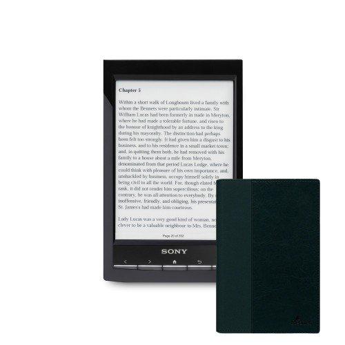 Sony PRS-T1, Черен + Калъф