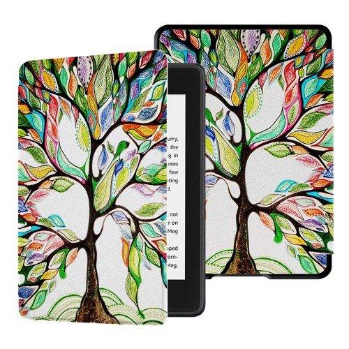 Калъф GARV Slim за Kindle 2019, Colorful Tree