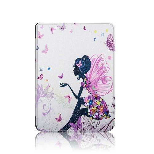 Калъф GARV Slim за Kindle 2019, Woman Butterfly