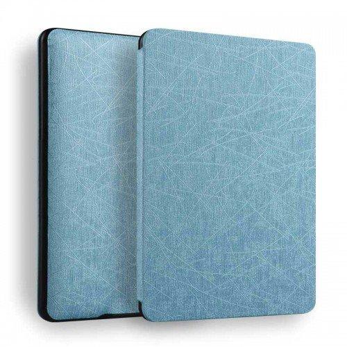 Калъф GARV Slim за Kindle Paperwhite 4 (2018), Светлосин