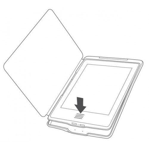 Класически калъф за Kindle Touch, Черен