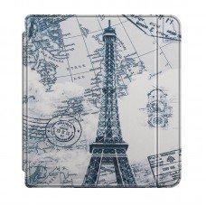 Калъф Slim за Kobo Libra H2o, Eiffel Tower
