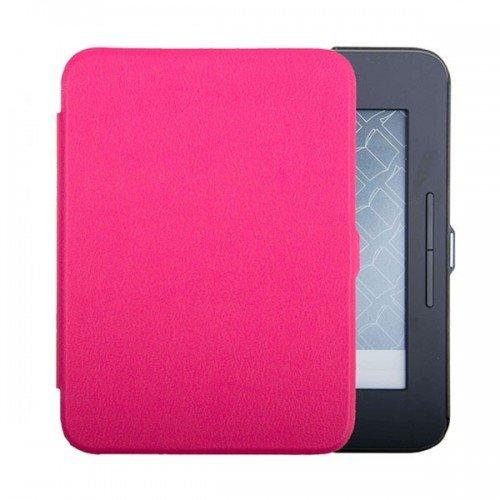 Калъф Premium за Nook GlowLight 3, Hot Pink