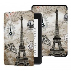 Калъф GARV Slim за Kindle Paperwhite 4 (2018), Eiffel tower