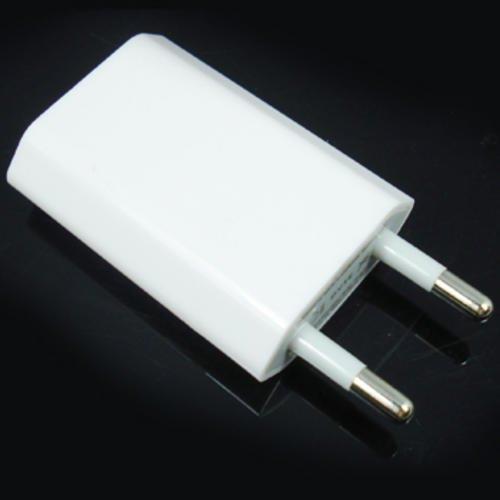 Зарядно устройство за електронен четец, EU към USB, Бял