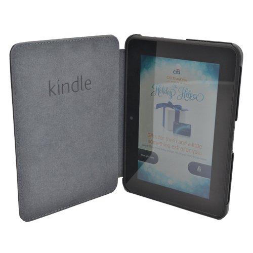 """Класически калъф за Kindle Fire HD 7"""" 1st Generation, Черен"""