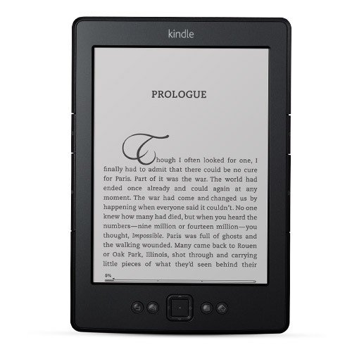 Amazon Kindle 4 WiFi with Special Offers, Черен