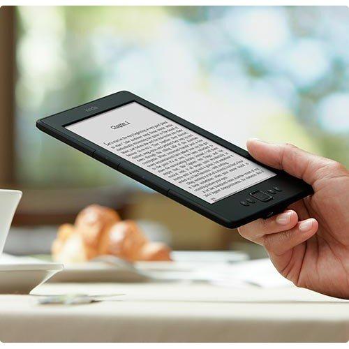 Amazon Kindle 6 WLAN, Черен + Калъф Classic