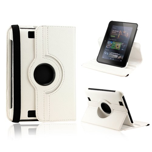 """Калъф 360 за Kindle Fire HD 7"""" 2nd gen., Бял"""