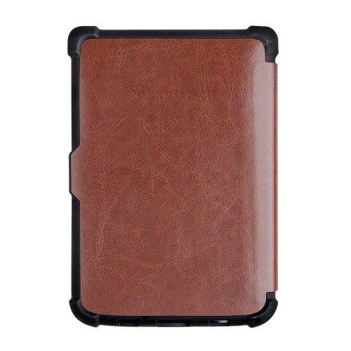 Калъф Business за PocketBook 606, 616, 627, 628, 632, 633, Кафяв