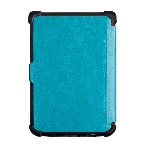 Калъф Business за PocketBook 606, 616, 627, 628, 632, 633, Светлосин