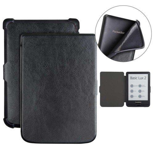 Калъф Business за PocketBook 616, 627, 628, 632, 633, Черен