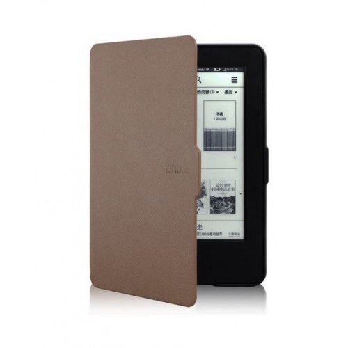 Калъф Smart за New Basic Kindle 2016, Кафяв