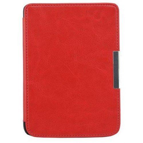Луксозен калъф за Pocketbook Mini 515, Червен